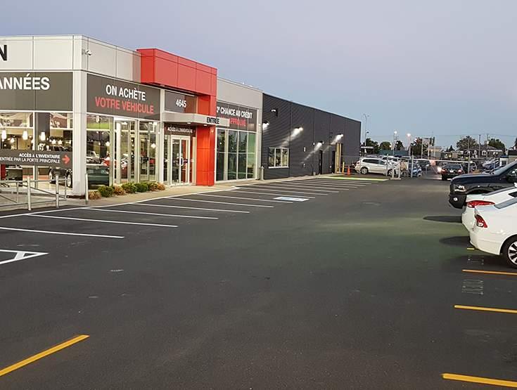 Espaces de stationnement aux dimensions trop réduites !