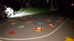 Traçage de ligne - Terrain de jeux - École - Garderie (1)