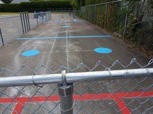 Traçage de ligne - Terrain de jeux - École - Garderie