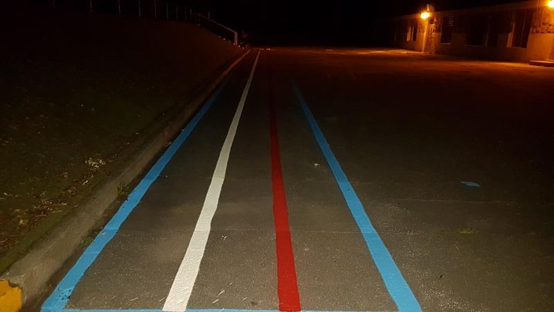 Traçage de ligne - Terrain de jeux - École - Garderie (2)
