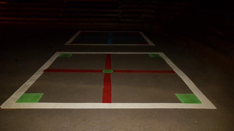 Traçage de ligne - Terrain de jeux - École - Garderie (3)