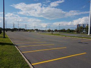 Traçage de lignes de stationnement (10)