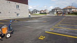 Traçage de lignes de stationnement (11)