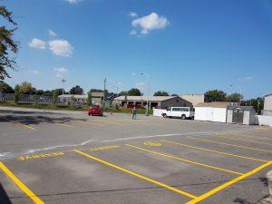 Traçage de lignes de stationnement (12)