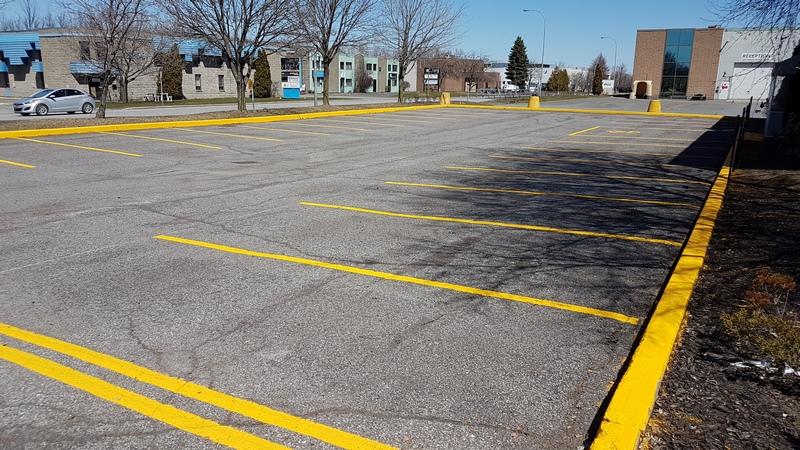 Traçage de lignes de stationnement (14)