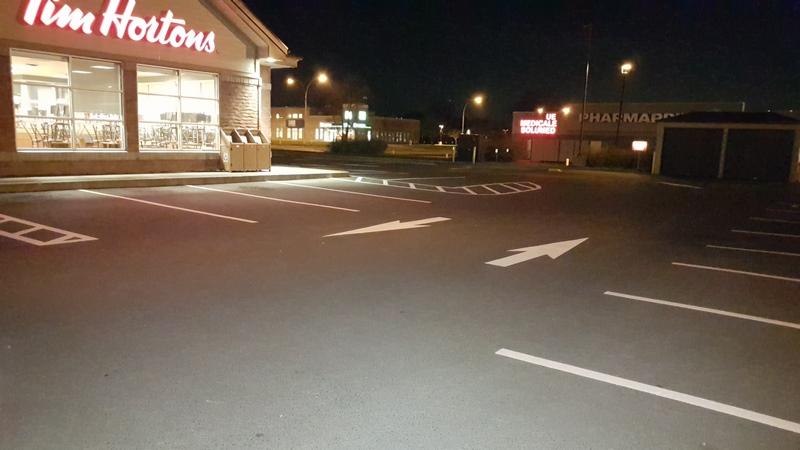Traçage de lignes de stationnement (15)