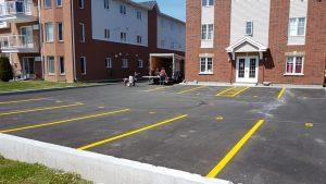 Traçage de lignes de stationnement (16)