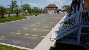 Traçage de lignes de stationnement (18)