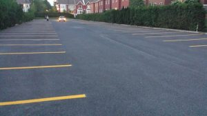 Traçage de lignes de stationnement (2)