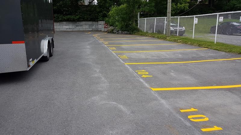 Traçage de lignes de stationnement (20)