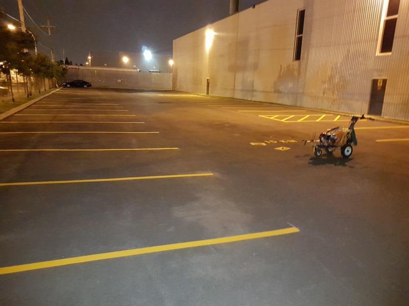 Traçage de lignes de stationnement (24)