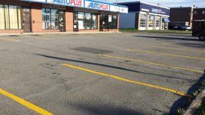 Traçage de lignes de stationnement (3)