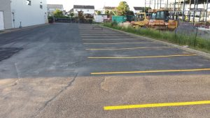 Traçage de lignes de stationnement (4)