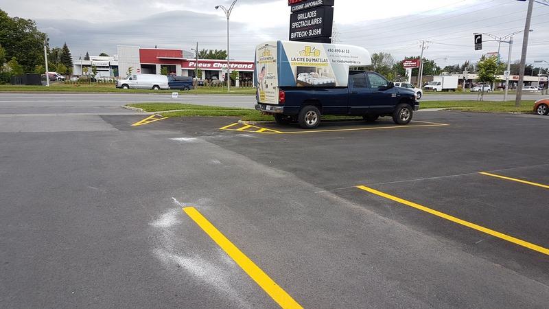 Traçage de lignes de stationnement (8)