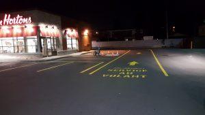 Traçage de ligne de stationnement - Commercial (10)