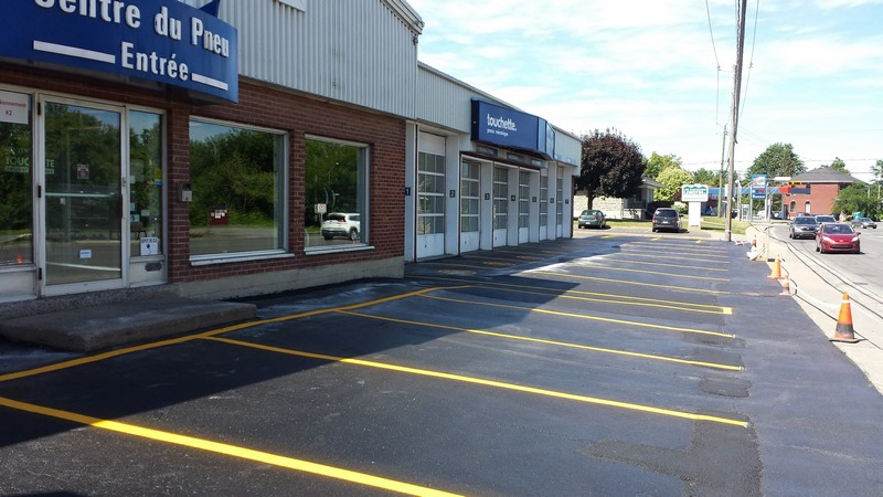 Traçage de ligne de stationnement - Commercial (18)