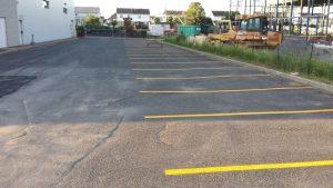 Traçage de ligne de stationnement - Commercial (2)