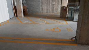 Traçage de ligne de stationnement - Commercial (21)